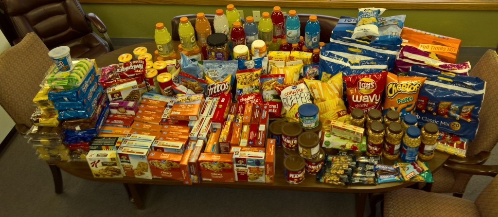 2016 Snack Drive-BVHS