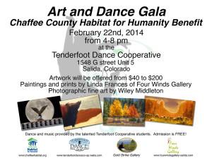 2014 Art and Dance Gala
