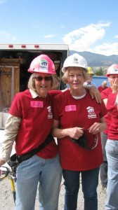 2014 Womens' Build - Molly Strethar and Beth Cooper