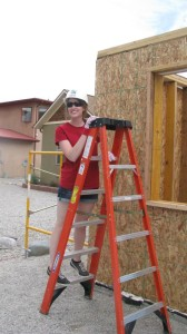 2014 Womens' Build - Intern Theresa Graham