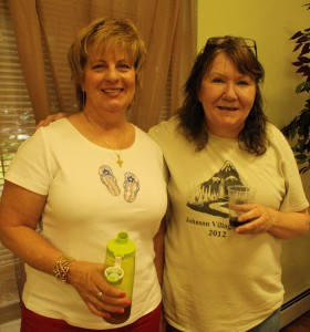 August 2013 Chili Cookoff- Sue Shoemaker and Colleen Rogins (Family Training)