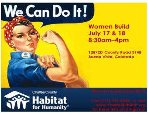 2015 Women's Build