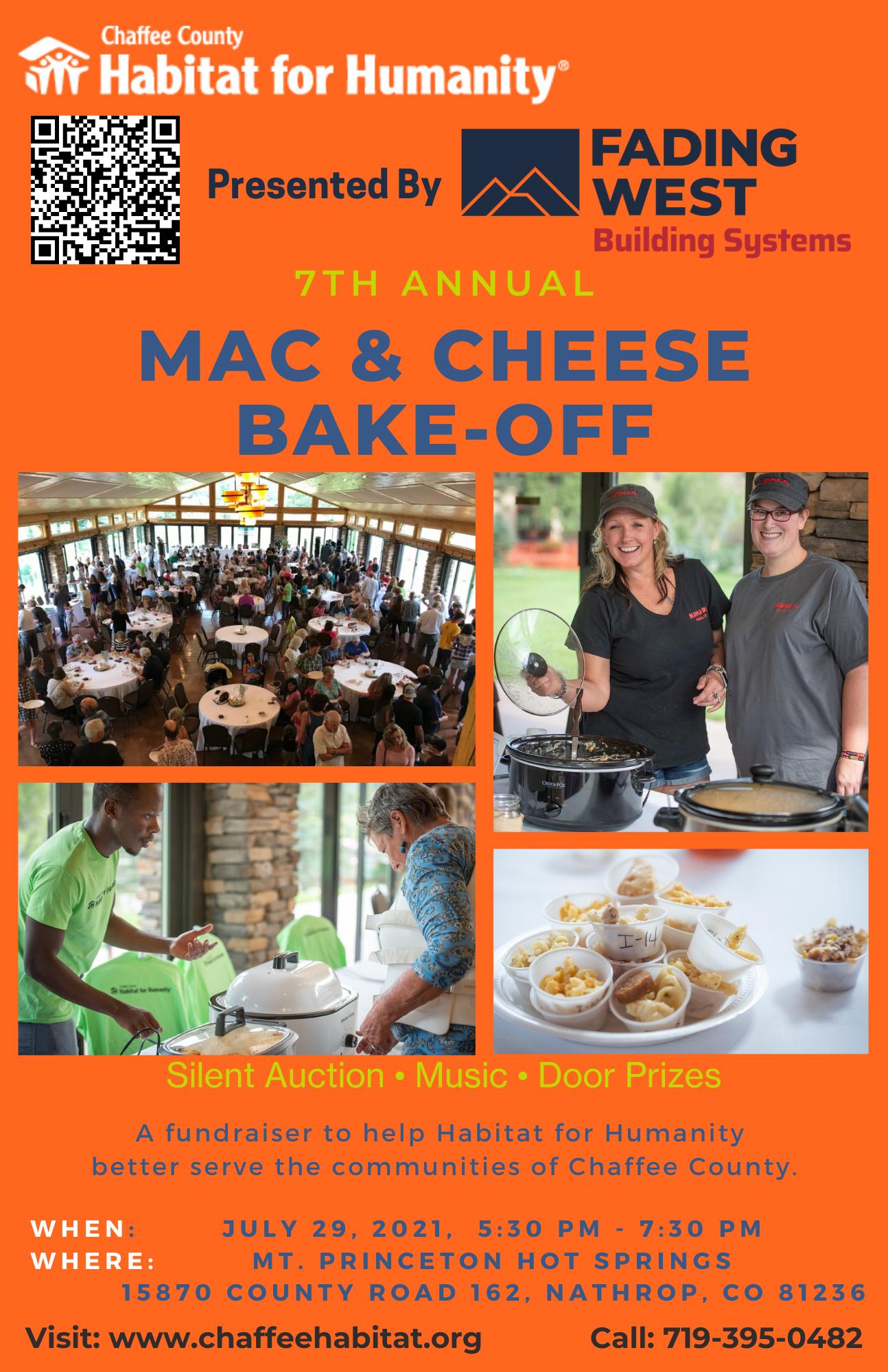 Mac & Cheese Bake-Off Details