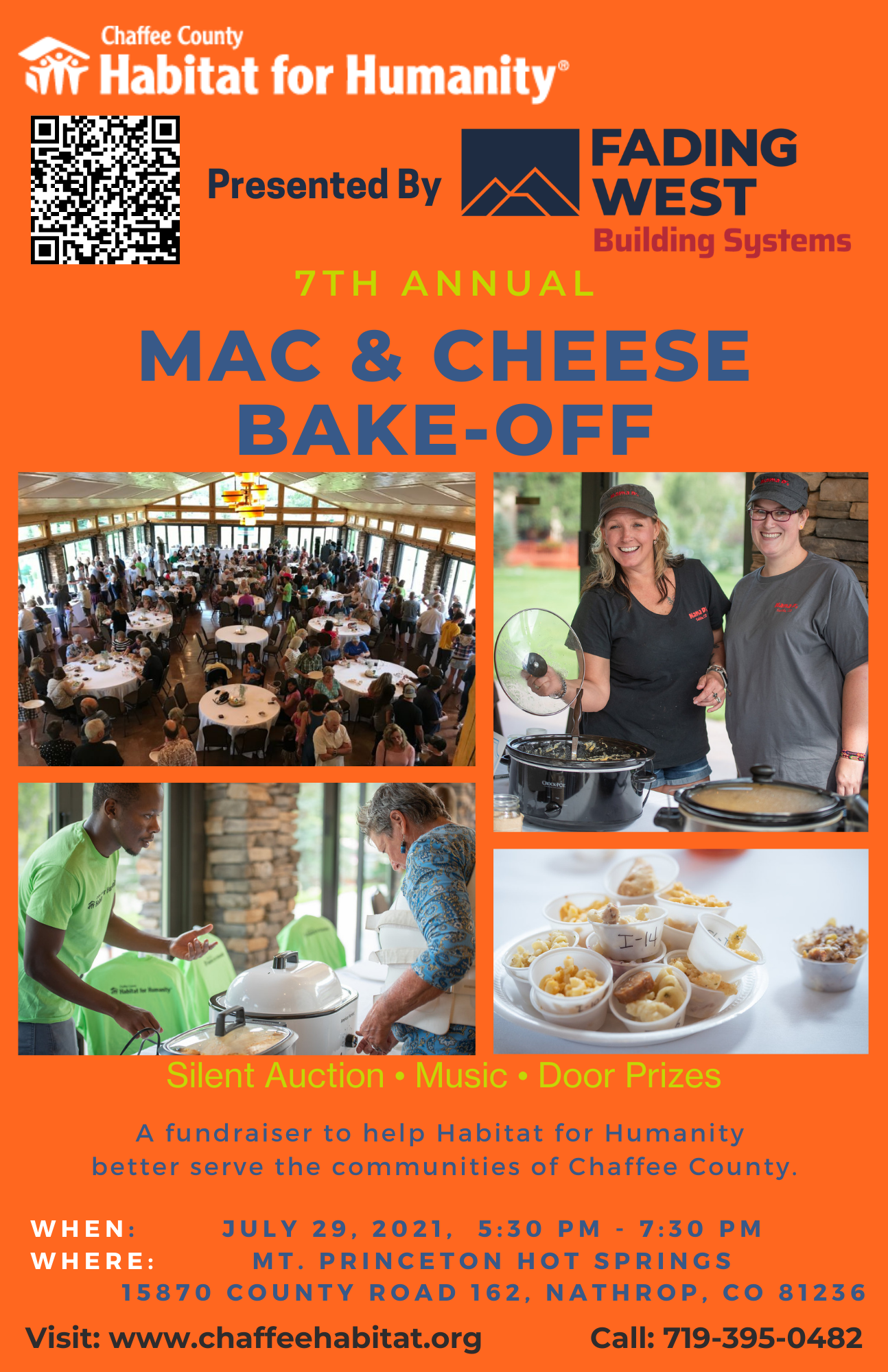2021 Mac & Cheese Bake-Off/ Silent Auction Fundraiser Event